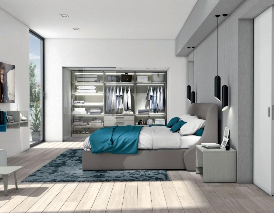 ΞΕΝΟΔΟΧΕΙΑΚΟ ΕΠΙΠΛΟ A501 APARTMENT BEDROOM AREA